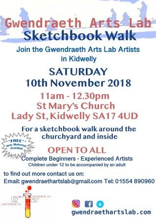 GAL sketchbook walk poster 2018 November