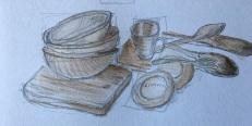 GALS Kitchen Sink Sketching Session