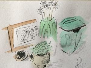 GALS - online sketchbook session - still life