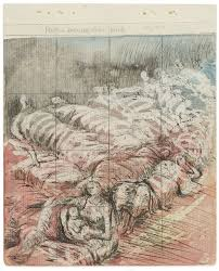 Henry Moore Drawing