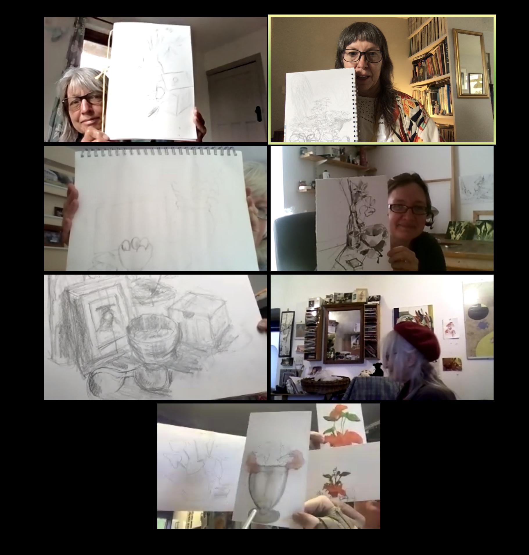 GALS Still Life sketching Session
