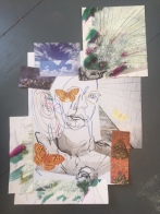 Gwendraeth Arts Lab - self portrait collage online session