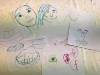 Gwendraeth Arts Lab - self portrait collage online session