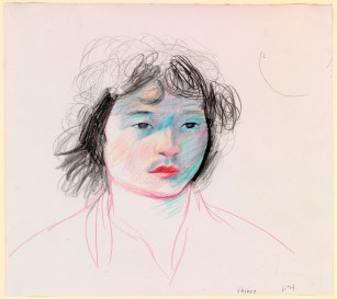 AVID HOCKNEY Portrait of Shinro Ohtake