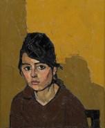 Williams, Kyffin; German Girl; https://www.royalacademy.org.uk/art-artists/work-of-art/O2050 Credit line: (c) , Royal Academy of Arts (c) Royal Academy of Arts /