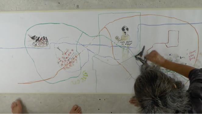 Maria Hayes Marega Palser - Mapping Video