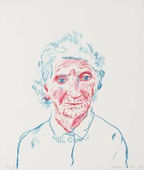 Portrait of Mother III 1985 David Hockney born 1937 Presented by the artist 1993 http://www.tate.org.uk/art/work/P20119