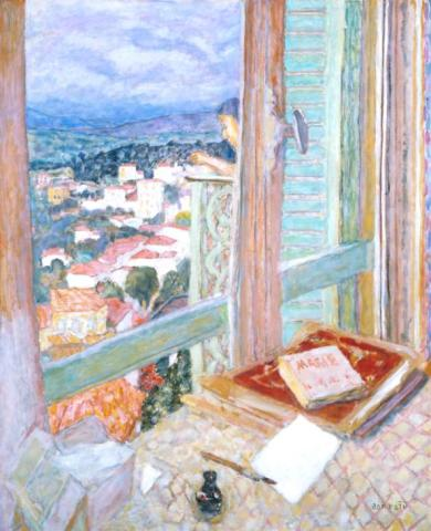 The Window 1925 Pierre Bonnard 1867-1947 Presented by Lord Ivor Spencer Churchill through the Contemporary Art Society 1930 http://www.tate.org.uk/art/work/N04494
