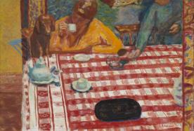 Coffee 1915 Pierre Bonnard 1867-1947 Presented by Sir Michael Sadler through the Art Fund 1941 http://www.tate.org.uk/art/work/N05414
