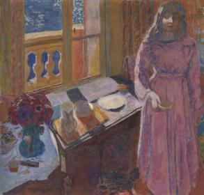 The Bowl of Milk c.1919 Pierre Bonnard 1867-1947 Bequeathed by Edward Le Bas 1967 http://www.tate.org.uk/art/work/T00936